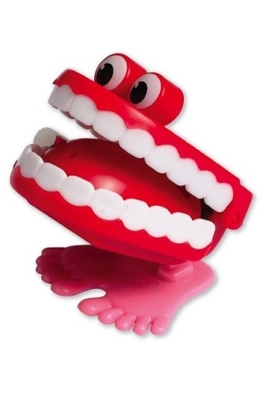 Independent Jumping Teeth Toy (5pk)