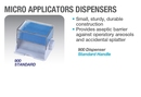 Independent Microapplicator Dispenser - Standard