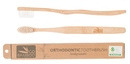 GO BAMBOO BIODEGRADABLE TOOTHBRUSH - ORTHODONTIC 25PKT